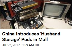 'Husband Storage' Pods Are Now a Thing in a Shanghai Mall