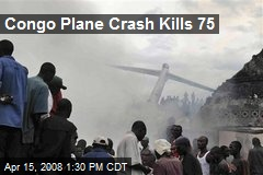Congo Plane Crash Kills 75