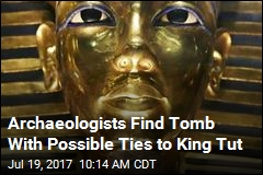 Archaeologists Find Tomb With Possible Ties to King Tut