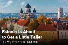 Estonia Is About to Get a Little Taller