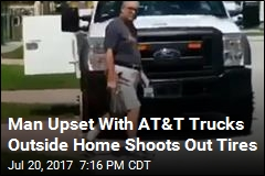 Florida Man Opens Fire on AT&T Trucks in Front of Home