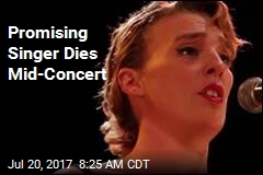 Rising French Singer Dies on Stage