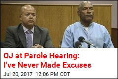 OJ Simpson's Parole Hearing Underway