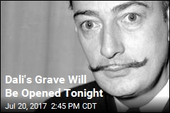 Coroners Will Try to Remove 4 of Dali's Teeth Tonight