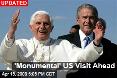 'Monumental' US Visit Ahead