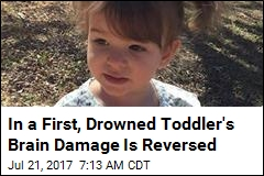 In a First, Drowned Toddler's Brain Damage Is Reversed