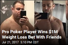 Pro Poker Player Wins $1M Weight Loss Bet With Friends