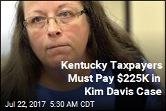 Taxpayers Must Pay for Kentucky Clerk's Marriage License Refusal