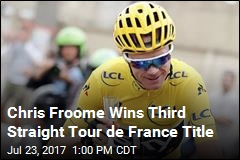 Chris Froome Wins Third Straight Tour de France Title