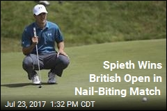 Jordan Spieth Takes Home Top Prize at British Open