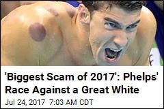 People Really Bummed About Phelps' Race vs. Great White
