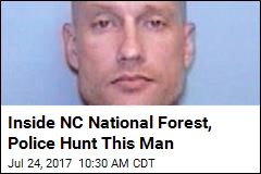 Inside NC National Forest, Police Hunt This Man