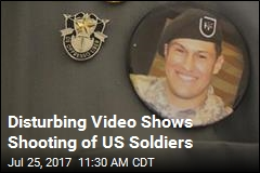 Video Shows Mysterious Shooting of US Soldiers in Jordan