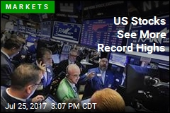 US Stocks See More Record Highs