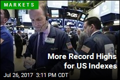 More Record Highs for US Indexes