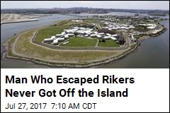 Man Who Escaped Rikers Never Got Off the Island