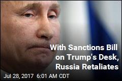 With Sanctions Bill on Trump's Desk, Russia Retaliates