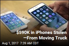 $590K in iPhones Stolen —From Moving Truck