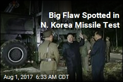 Big Flaw Spotted in N. Korea Missile Test