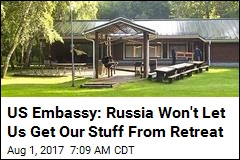 US Embassy Says It Was Barred From Moscow Property Early