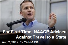 For First Time, NAACP Advises Against Travel to a State