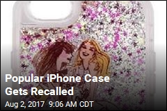 Glittery iPhone Cases Recalled Over Burns