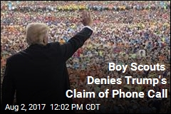 Boy Scouts: No, Top Leaders Didn't Call Trump