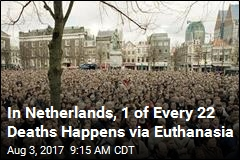 In Netherlands, 4.5% of Deaths Now Happen via Euthanasia