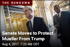 Senate Moves to Protect Mueller From Trump