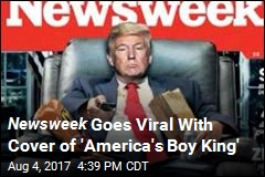 On Viral Newsweek Cover, Trump Is a 'Lazy Boy'