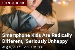 Smartphones Have Left Kids on Edge of 'Mental-Health Crisis'