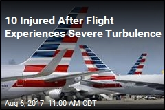 10 Injured After Flight Experiences Severe Turbulence