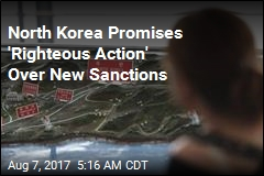 Pyongyang Promises 'Righteous Action' Over New Sanctions