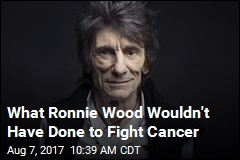 Ronnie Wood: I Would've Refused Chemo to Keep Hair