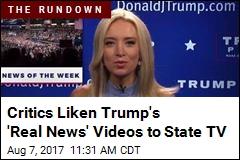 Trump's New 'Real News' Series Lands CNN Figure