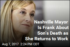 Nashville Mayor Is Frank About Son's Death as She Returns to Work