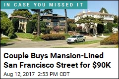 Couple Buys Mansion-Lined San Francisco Street for $90K