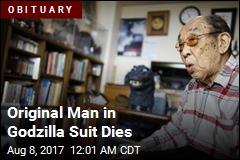 Original Man in Godzilla Suit Dies