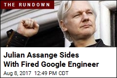 Assange Offers Fired Google Engineer a Job