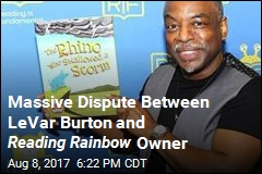 Massive Dispute Between LeVar Burton and Reading Rainbow Owner