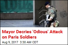 Vehicle Slams Into Paris Soldiers, Injures 6