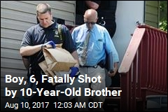 Cops: Boy, 10, Fatally Shot 6-Year-Old Brother