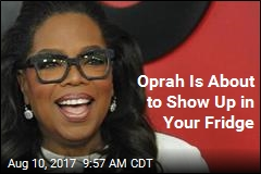 Oprah Now Has Her Own Food Line