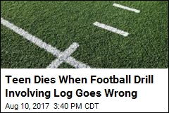 Teen Dies When Log Falls on Him During Football Drill