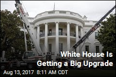 Peek at the White House's Big Renovation
