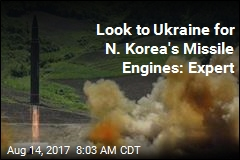 Possibly Powering N. Korea's Missiles: Ukrainian Engines