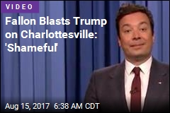 Jimmy Fallon Gets Emotional on Charlottesville
