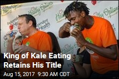 King of Kale Eating Retains His Title