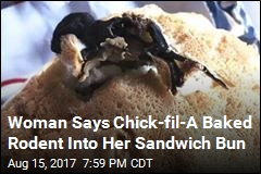 Lawsuit Claims Rodent Was Baked Into Chick-fil-A Sandwich