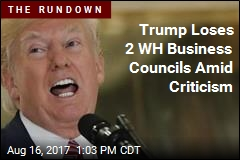 Trump Disbands 2 White House Business Councils